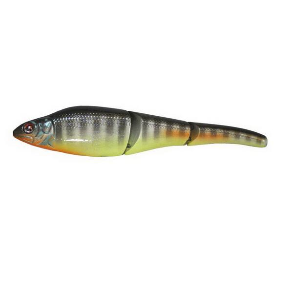Приманка Sebile Magic Swimmer Slow Sinking 125mm цвет NTY (74643)Воблеры<br>Плавающая приманка с уникальной конструкцией тела. Состоит из трех соединенных частей, которые обеспечивают уникальное сбалансированное движение.<br>