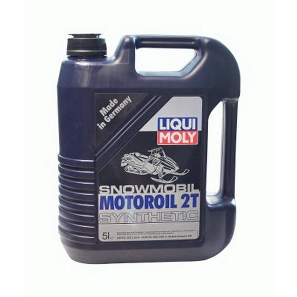 Масло Liquimoly 2-тактное моторное для снегоходов синт. (5л) Snowmobil Motoroil 2T SyntheticМасла и ГСМ<br>Snowmobil Motoroil 2T Synthetic — это полностью синтетическое моторное масло для 2-тактных двигателей, удовлетворяющее самым высоким требованиям. Предотвращает образование отложений в двигателе, снижает трение и защищает от износа.<br>