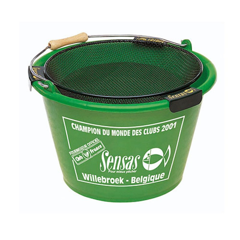 Ведро Sensas Bucket 17л 06031Емкости для замешивания<br>Ведро из пластмассы для замеса прикормки емкостью 17л.<br>