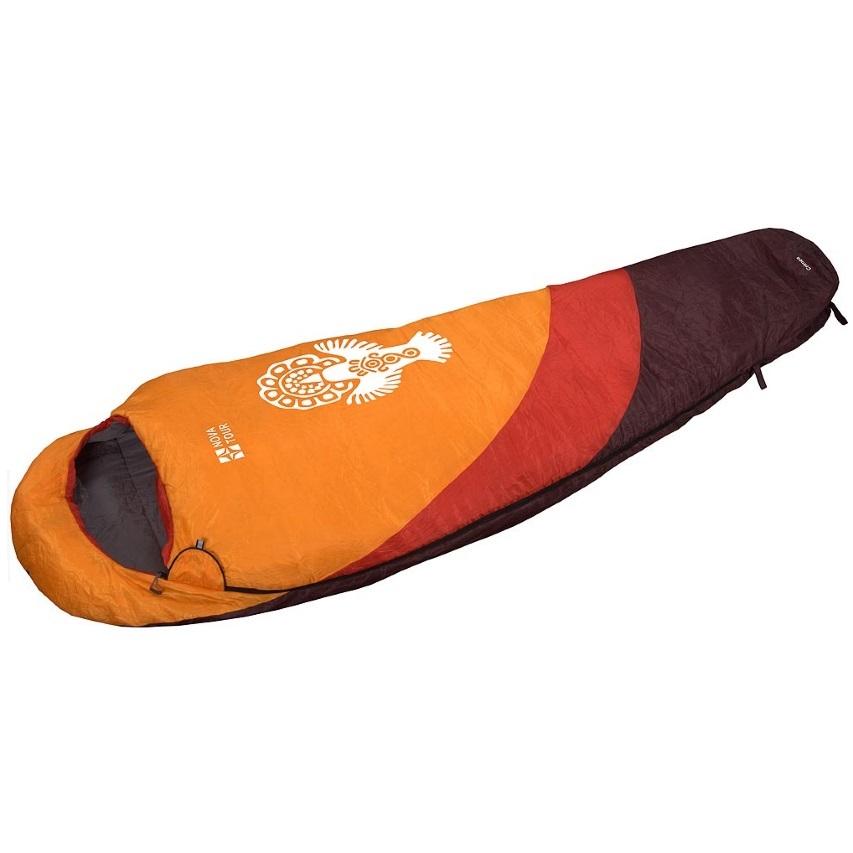 Спальный мешок NovaTour Крым Оранжевый/красный/коричневый