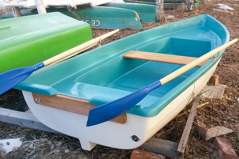 купить пластиковую лодку для рыбалки от производителя