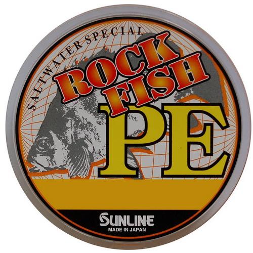 Леска плетеная SunLine Rock Fish PE 120M HG #0.3 (68127)Плетеные шнуры<br>Шнур отличается мягкостью, что позволяет делать дальние забросы.<br>