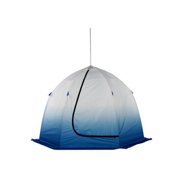 Палатка зимняя Пингвин 2 210 Х 210 Х 140Палатки для зимней рыбалки<br>Палатка Пингвин 2 предназначена для зимнего подледного лова. Для удобства предусмотрены форточка в виде молнии, длительный бегунок на входе и два кармана для снастей. Ширина палатки позволяет оборудовать 3-4 лунки.<br>