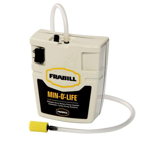 Аэратор Frabill Aerator 1434Ящики, каны и аэраторы<br>Портативный аэратор, работает от батареек.<br>