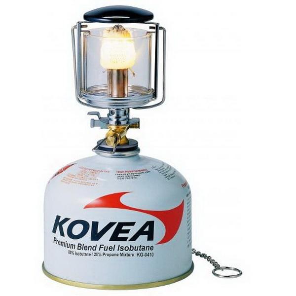 Лампа Kovea газовая (мини) KL-103Лампы кемпинговые<br>Туристическая газовая лампа небольшого размера. Оснащена пьезоподжигом.<br>