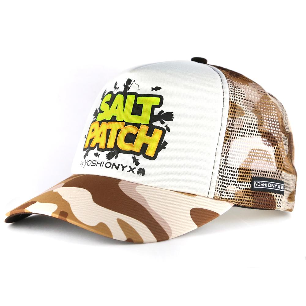 Бейсболка Yoshi Onyx Salt Patch, камуфляж