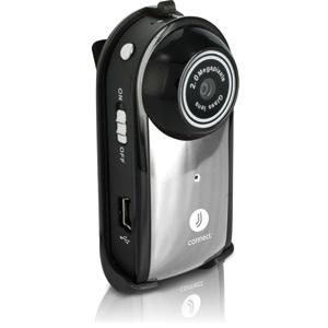 Видеорегистратор JJ-Connect Videoregistrator Mini 100 серебряныйВидеорегистраторы<br>Videoregistrator Mini 100 является бюджетной моделью в линейке видеорегистраторов JJ-Connect. Не смотря на низкую цену, прибор обладает целым рядом преимуществ, особенно важно отметить компактный размер камеры, что позволит незаметно установить ее в вашем...<br>