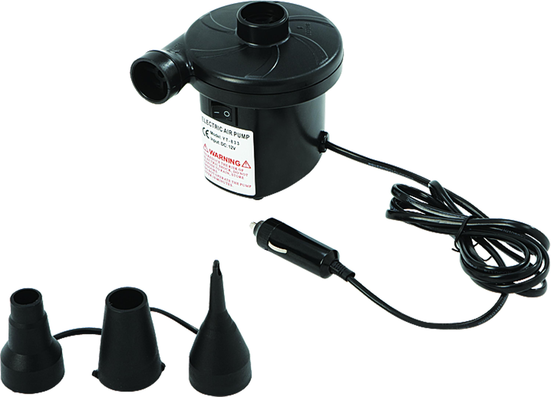 Насос электрический JILONG RELAX AC ELECTRIC AIR PUMP 220В черный JL29P308GВодные аттракционы<br>Электрический насос с напряжением 220В и 3 дополнительными насадками различной конфигурации в комплекте.<br>