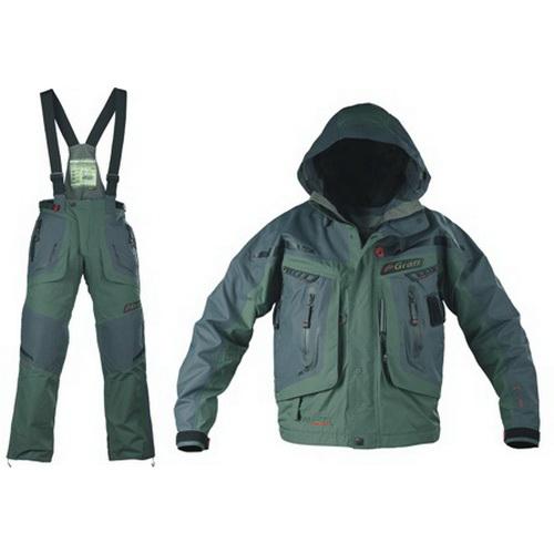 Костюм Graff рыболовный (короткая куртка+брюки) 627-В/727-В-XL (68723)Костюмы/комбинзоны<br>Удобный костюм для комфортной рыбалки при любых погодных условиях.<br>