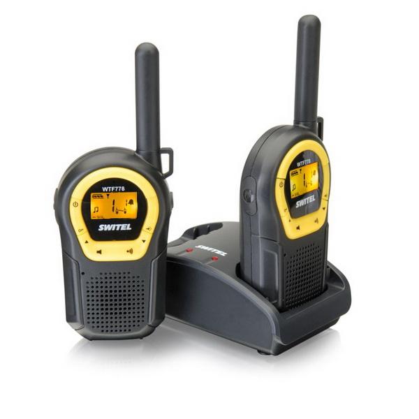 Радиостанция Switel (10км) WTF 778Любительские<br>Отличная рация от Швейцарского производителя высококачественной электроники Switel. Эта модель рации оснащена системой «Беби мониторинг», которая предназначена специально для использования рации в качестве радионяни и системой VOX (автоматическая активаци...<br>