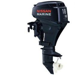 Лодочный мотор 4-х тактный NISSAN MARINE NSF 18 B2 EP2Подвесные моторы<br>Отлично зарекомендовавший себя карбюраторный четырехтактный двухцилиндровый мотор мощностью 18 л.с.<br>