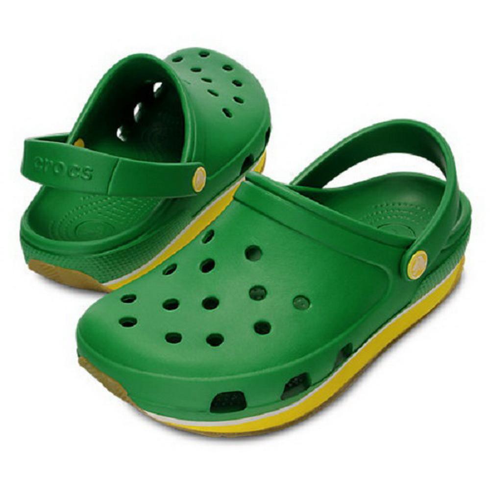 Сабо Crocs Унисекс Ретро Клог Кэлли Пьютер/Волт Грин р. 43.5 (M 10/W 12) (82801)Сандалии и сабо<br>Сабо Crocs –универсальная обувь, как для мужчин, так и для женщин. Сабо выполнены из практичного, легкого материала  Крослайт.  Обувь идеально подойдет в теплую погоду<br>