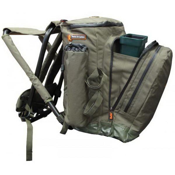 Рюкзак AG стульчик M (45 л) (64571)Рюкзаки<br>Любители активного отдыха в полной мере оценят представленный товар, совмещающий в себе удобную заплечную сумку и складное сидение.<br>