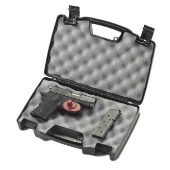 Кейс Plano для оружия 1403-00Сумки<br>Кейс для пистолетов. Большая удобная ручка. Два слоя высокоплотной пены. Удобные, безопасные, легкие в использовании замки.<br>