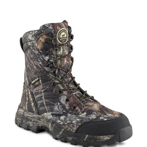 Ботинки Irish Setter Shadow Trek мужск., верх: нейлон, при движ. -30°C, большая полнота, р-р 42,5, цвет черный (66851)Ботинки<br>Утепленная обувь, подходит для активного отдыха и охоты в осенне - зимнее время.<br>