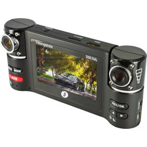 Видеорегистратор JJ-Connect Videoregistrator 5000 DUALВидеорегистраторы<br>Новинка JJ-Connect Videoregistrator 5000 DUAL- это ноу-хау на рынке устройств записи автодорожного движения. Прибор оснащен двумя видеокамерами, левая камера - основная камера видеорегистратора, так как она обладает широким углом обзора 120 , эту камеру н...<br>