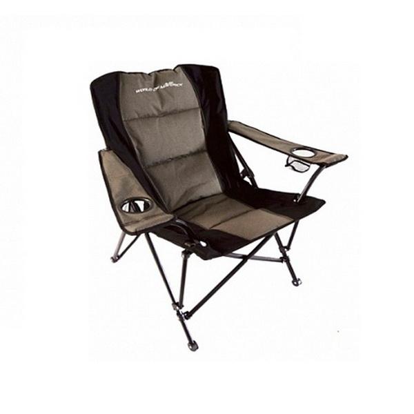 Кресло Maverick Deluxe King Chair AC124L (90*69*49/91)Стулья, кресла складные<br>Удобный стул для рыбалки. Основа изготовлена из алюминиевого сплава. Она достаточно прочная и не гнется под большими нагрузками.<br>