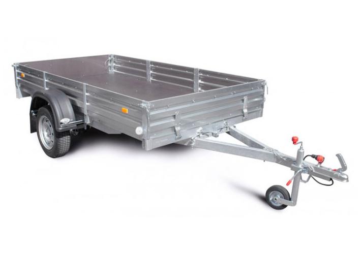 Автоприцеп МЗСА для квадроцикла и др. мототехники 817703.001Бортовые прицепы<br>Прицеп для перевозки мотоциклов, ATV и других грузов<br>