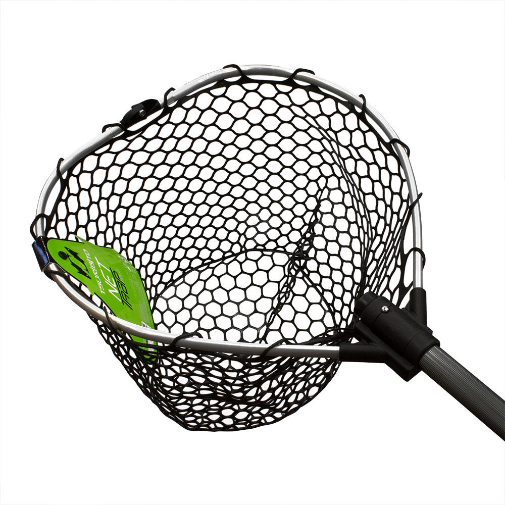Подсачек TSURIBITO NET TRAP Fold c черной силиконовой сеткой, складной, длина 95см, диаметр 38см BKT0-38379501Подсачеки<br>Универсальный подсак с силиконовой сеткой. Применяется для вытаскивания рыбы без повреждения снастей и самого улова.<br>