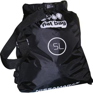 Герметичный мешок Nissamaran Flat BagГермомешки<br>Легкая, прочная, сумка NISSAMARAN Flat Bag из плотной непромокаемой синтетической ткани.Размер - 5 литров.<br>