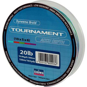 Леска Daiwa Tournament Accudepth 150-20 (12770)Плетеные шнуры<br>Леска плетеная Daiwa Tournament Accudepth - разноцветная леска, позволяет вам точно измерить глубину и длину.<br>