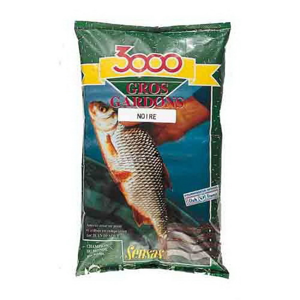 Прикормка Sensas 3000 Gros Gardon Noir 1кгПрикормки<br>Высококачественная смесь, ориентированная на быстрое привлечение рыбы в зону ловли. В ее состав входят семена крупного помола.<br>