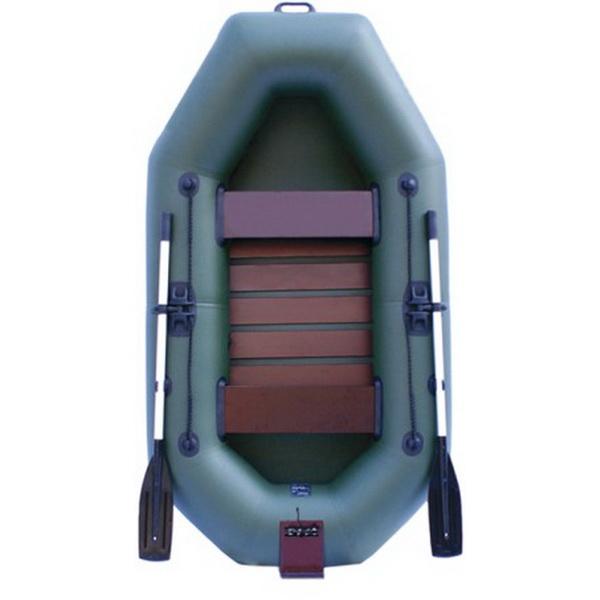 Надувная лодка Нептун К 240Т зеленая (коврик-книжка) PROГребные лодки<br>Лодки с приставкой под мотор включают в себя все достоинства<br>гребных лодок и имеют в комплектации съемный навесной<br>транец для мотора небольшой мощности (до 3 л.с.), что значи-<br>тельно расширяет область использования лодки.<br>
