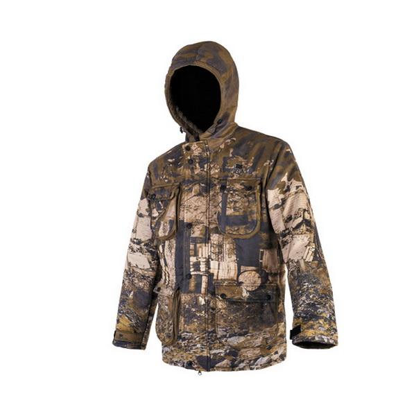 Куртка демисезонная Pirate ПейнтболКуртки<br>Куртка с мембранной тканью, рисунок камуфляж. Защищает от холода при температуре до -10 градусов.<br>