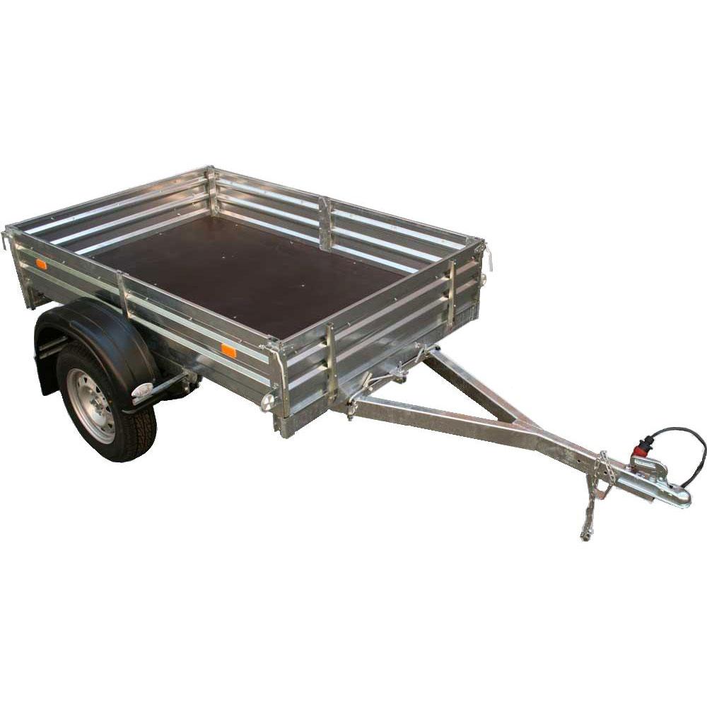Автоприцеп МЗСА 817701.001-05 для грузов (бортовой, дачный)Бортовые прицепы<br>Автомобильный легковой прицеп оптимально подходит для перевозки строительного листового материала, мототехники и других грузов.<br>