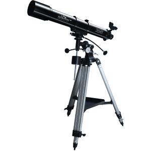 Телескоп JJ-Astro Astroman 90x900Телескопы<br>Astroman 90x900 - высококачественный рефрактор на экваториальной монтировке. Прекрасный инструмент для наблюдения планет и визуальных наблюдений слабосветящихся объектов.<br>
