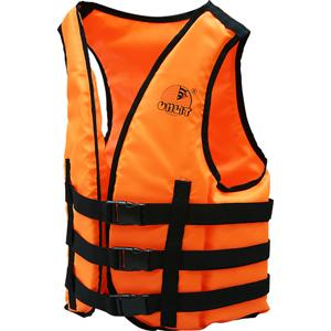 Жилет страховочный Слалом (серт.ГИМС)Спасательные жилеты <br>Жилет для воднолыжников, водных мотоциклов, систем проката на воде. Масса не более 0,5 кг. Положительная плавучесть не менее 5,1 кг. Рассчитан на весь человека не более 70 кг.<br>