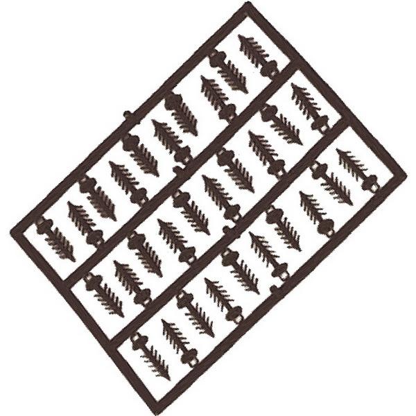 Стопор Carp Zoom для бойлов Barbed Boilie Stops (30pcs/rack, 2 racks), MatteФидерная и карповая оснастка<br>Стопор представляет собой карповый аксессуар. Имеет множество модификаций, что позволяет выбрать необходимую для создания оснастки.<br>