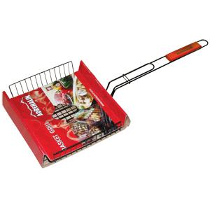 Решетка-гриль объемная универсальная Adrenalin Basket GrillМангалы, барбекю, шампуры, решетки<br>Решетка-гриль объемная универсальная Basket Grill предназначена для запекания мяса, птицы, рыбы, овощей.<br>   <br>                                                                          <br>- Решетка-гриль изготовлена  из пищевой нержавеющей стали с антиприг...<br>