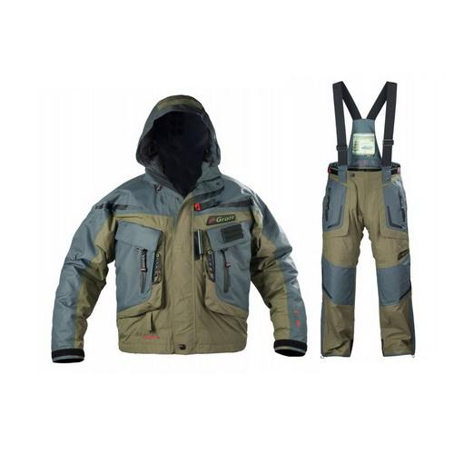 Костюм Graff рыболовный (короткая куртка+брюки) ткань Bratex 628-В/728-В-M/176-182 (67567)Костюмы/комбинзоны<br>Особенно прочный костюм для рыбной ловли при любой погоде с несколькими карманами.<br>