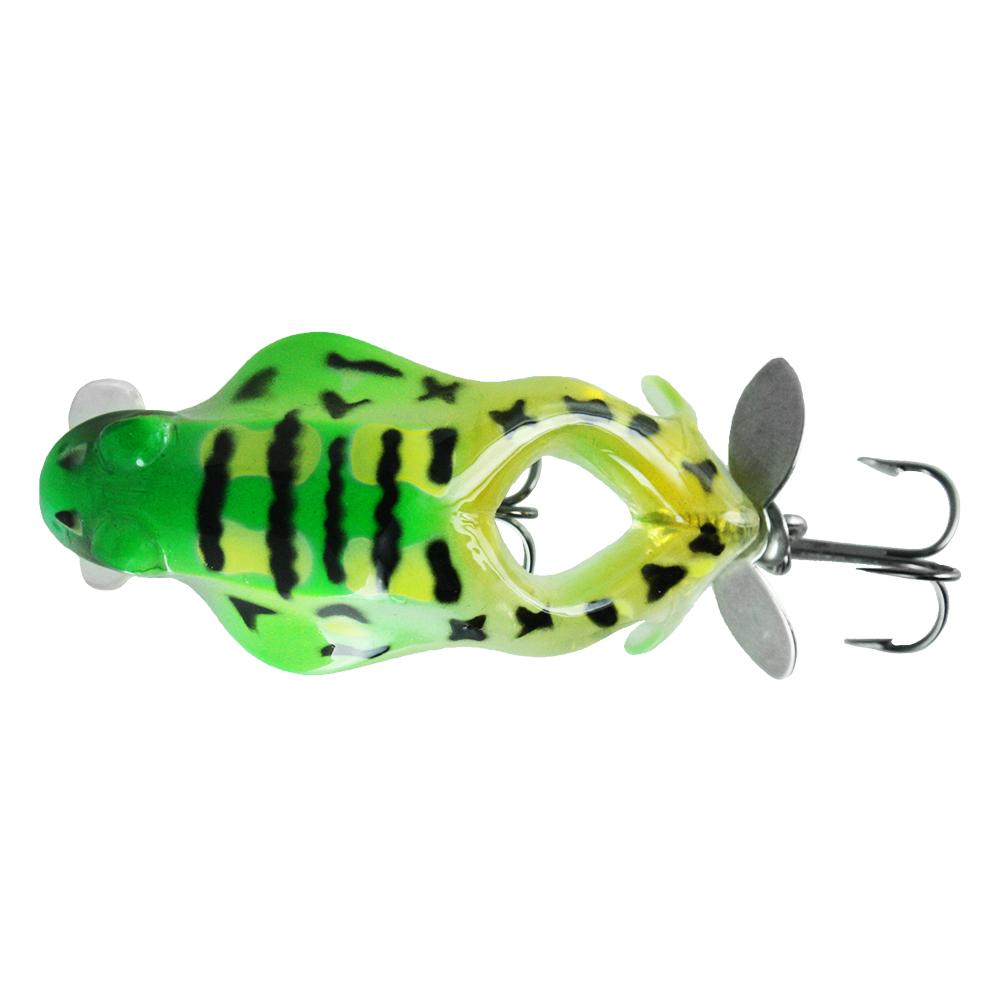 Воблер Trout Pro Big Frog Crank 60, цвет B16   (38313)Воблеры<br>Уникальная приманка для ловли в заросших водоёмах. Её движения имитируют уставшую или неосторожную лягушку, которыми не брезгует щука.<br>