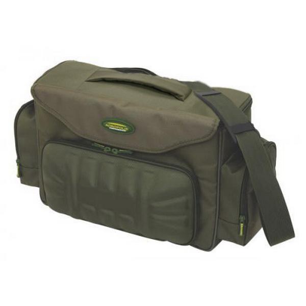Сумка Acropolis PC-4 рыбацкаяСумки и рюкзаки<br>Рыбацкая сумка из водонепроницаемого материала. Позволяет разместить внутри две коробки с рыболовными инструментами.<br>