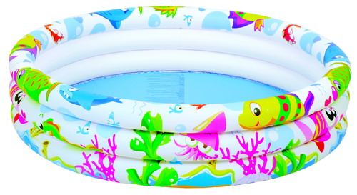 Бассейн JILONG Sea world pool детский 91х25 JL017010-3NPF