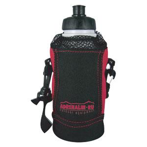 Спортивная фляга Adrenalin Sport Drive P2Фляжки<br>Классическая спортивная фляга будет полезна как на велосипедной, так и на пешей прогулке. В комплекте удобный чехол с ремешком для переноски фляги на плече.<br>