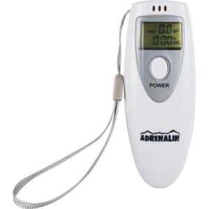 Алкотестер цифровой Adrenalin Pro Mille 100Алкотестеры<br>Алкотестер Adrenalin Pro Mille 100 применяется для измерения содержания алкоголя в выдыхаемом воздухе.<br>
