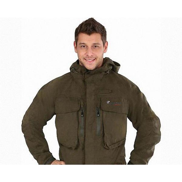 Куртка NovaTour рыболовная Риф XXL, Хаки (78356)Куртки<br>Куртка рыболовная из мембранной ткани<br>