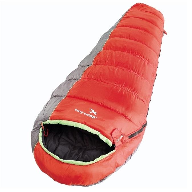 Спальный мешок Easy Camp кокон Devil 400 210 х80 х 50 240013Спальные мешки<br>Спальные мешки коконы предназначены для различных климатических условий. В отличие от спальных одеял коконы более компактные и легкие, благодаря специальной форме. При этом спальные мешки выполнены так, чтобы более легкий вес не был в ущерб комфорту.<br>