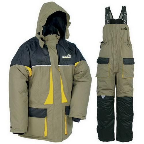 Костюм зимний Norfin ARCTICКостюмы/комбинезоны<br>Функциональный, продуманный до мелочей костюм для рыбалки в зимний период. Предусмотрено несколько карманов и светоотражающие элементы.<br>