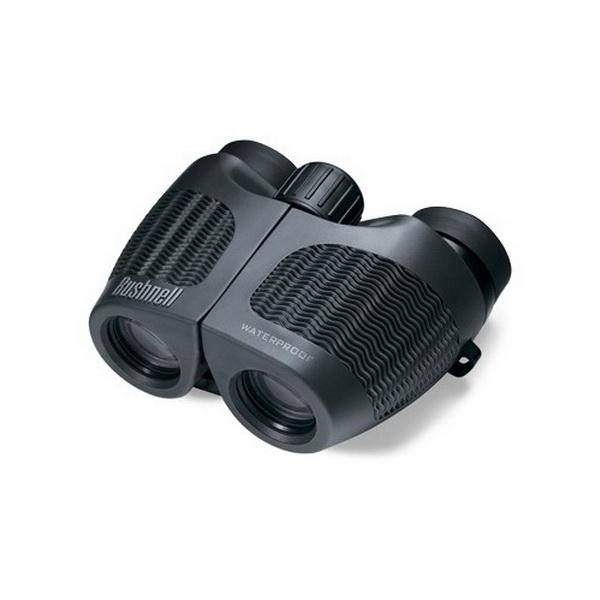 Бинокль Bushnell 10Х26 H2O Porro CompactБинокли<br>Серия биноклей разработана специально для людей, которые проводят много времени на воде, вследствие чего их инвентарь наиболее подвержен сильному загрязнению и воздействию влаги. Бинокль водонепроницаемый и заполнен азотом.<br>