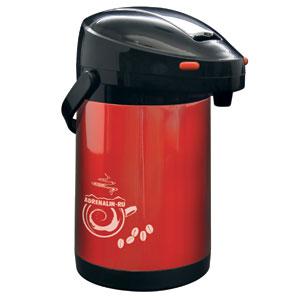 Термос Adrenalin Coffee MasterТермосы<br>Вместительный термос с пневмонасосом для удобства использования. Отлично подходит для семейного использования и больших компаний. <br>Емкость, мл: 2000.<br>