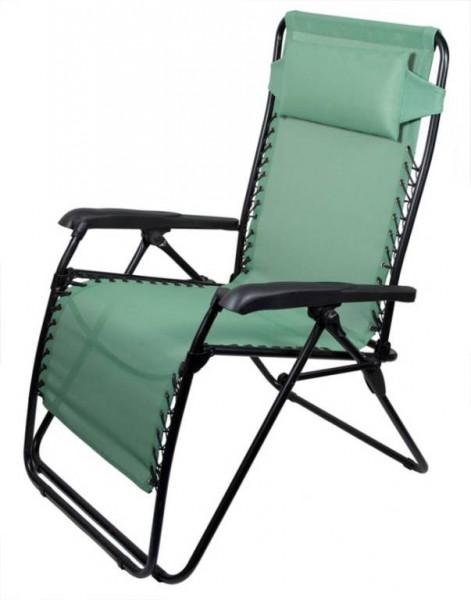 Кресло TREK PLANET многофункциональное Green FC630-68080Стулья, кресла складные<br>Кресло многофункциональное Green Trek Planet FC630-68080. В полностью разложенном состоянии кресла Ваше положение - горизонтально полусидя. Кресло фиксируется в любом положениии с помощью фиксаторов под подлокотниками. Пластиковые широкие подлокотники. Мя...<br>