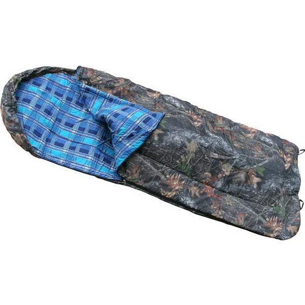 Спальный мешок ХСН с подголовником (одеяло, комбинированный, 1,0-1,8 м)