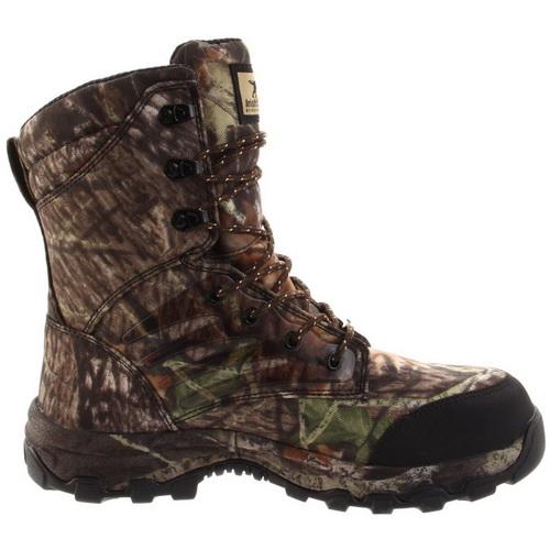 Ботинки Irish Setter Shadow Trek мужск., верх: нейлон, при движ. -30°C, большая полнота, р-р 45, цвет камуфляж (66856)Ботинки<br>Утепленная обувь, подходит для активного отдыха и охоты в осенне - зимнее время.<br>