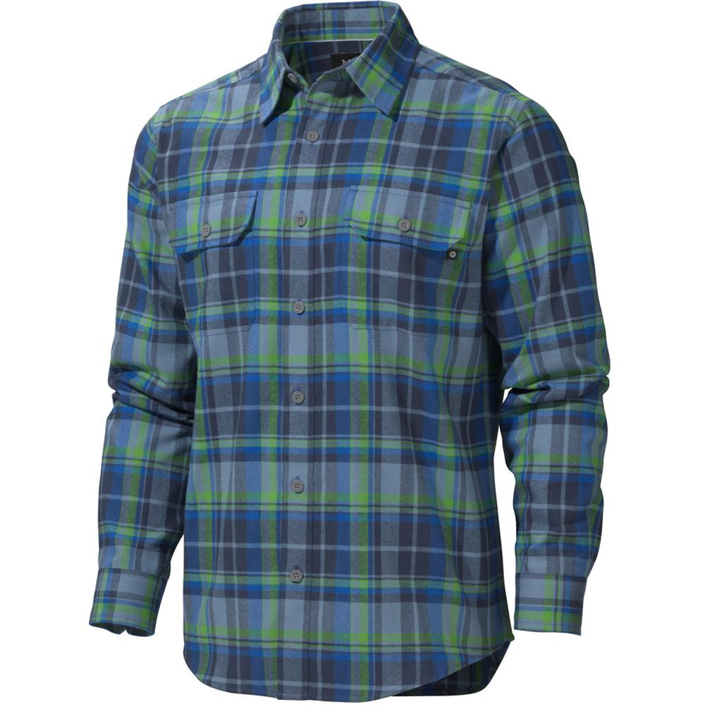 Рубашка Marmot Bowls Flannel LS, Graphite Grey, MРубашки<br>Рубашка Marmot Bowls Flannel LS, Graphite Grey, M<br><br><br>    <br>  <br><br>Теплая, мягкая рубашка Bowls создана из фланелевой ткани с полыми волокнами. Максимум тепла и прочности при минимальном весе. Средняя по плотности фланель с фактурой елочка над...<br>