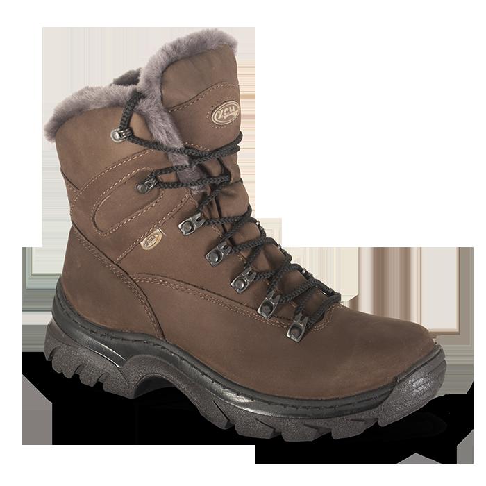 Ботинки ХСН Трэвел-VIP (натуральный мех) (43) 541-1 (95898)Ботинки<br>Обувь предназначена для эксплуатации в условиях, приближенных к экстремальным. <br>Комфортная температура эксплуатации:  от 0°С до -30°С<br>Основной материал:    Гидрофобный нубук<br>Основная стелька:    Кожа КРС<br>Подошва:    ТЭП Шейкер<br>Крепление подошвы:    К...<br>