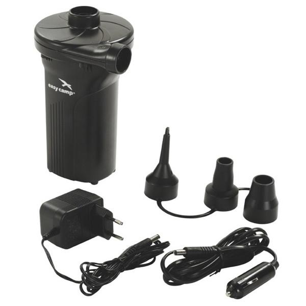 Насос Easy Camp электрический Monsoon Rechargeable PumpНасосы<br>Электрический насос с компактными размерами. Он предназначен для тех, кто любит проводить комфортно время на отдыхе, но не забывает об необходимых мелочах.<br>
